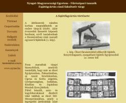 Kaszás Gergő - A fajátékgyártás története